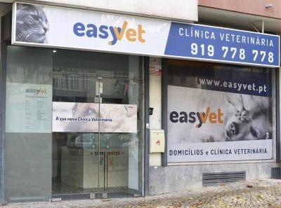 Foto exterior da clínica Easyvet